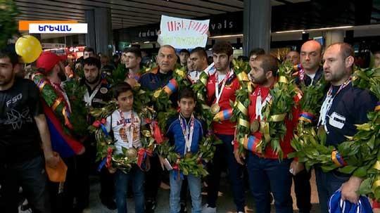 Ուժային եռամարտի Հայաստանի հավաքականը աշխարհի առաջնությունից վերադարձել է 23 մեդալով