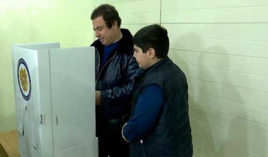 Գ. Ծառուկյանը քվեարկել է հանուն պետության հզորացման, տնտեսության զարգացման և բարեկեցիկ կյանքի