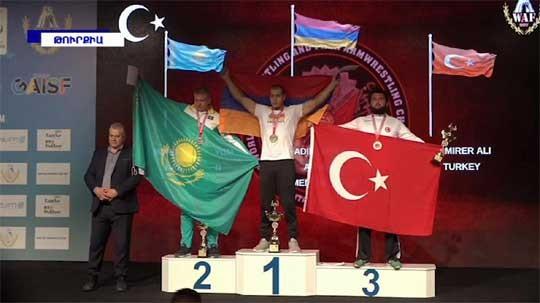Հայոց բանակի զինվոր մարզիկը Թուրքիայում ոսկե մեդալ է նվաճել