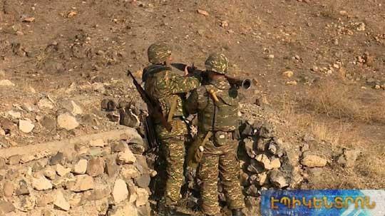 Երբ թիրախը հակառակորդն է. զինծառայողները մասնակցել են հրաձգության պարապմունքներին