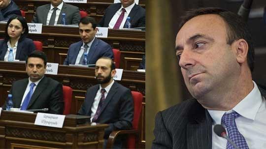 «Իմ քայլ»-ն անցնում է կտրուկ գործողությունների. Հ.Թովմասյանի լիազորությունները կդադարեցվե՞ն