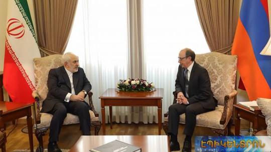 «Իրանի կարմիր գիծը ՀՀ տարածքային ամբողջականությունն է». Երևանում կայացավ Այվազյան-Զարիֆ հանդիպումը