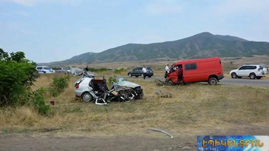 Ո՞րն է Արցախում զորացրված զինվորների մասնակցությամբ ավտովթարի պատճառը